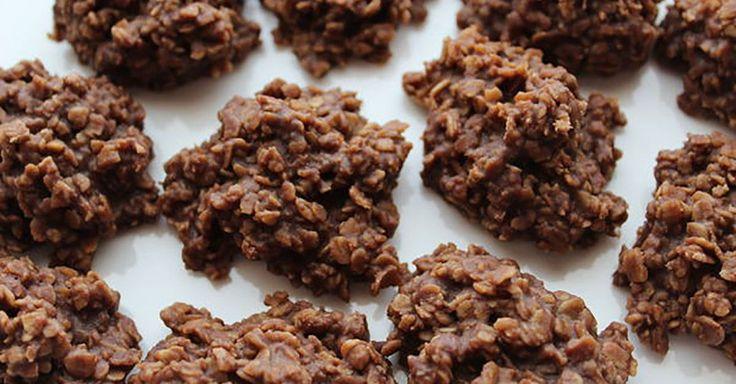 Healthy Sugar-Free Cookies: No-Bake Chocolate Oat Cookies