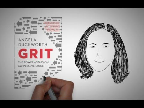 GRIT by Angela Duckworth | Animated CORE Message - YouTube