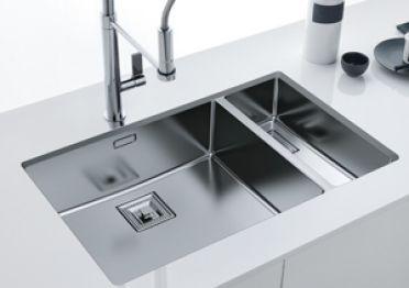 Cuve CENTINIX Inox : bassins d'exception pour cuisines uniques, signés FRANKE. Une sélection de la rédaction de source-a-id.com.