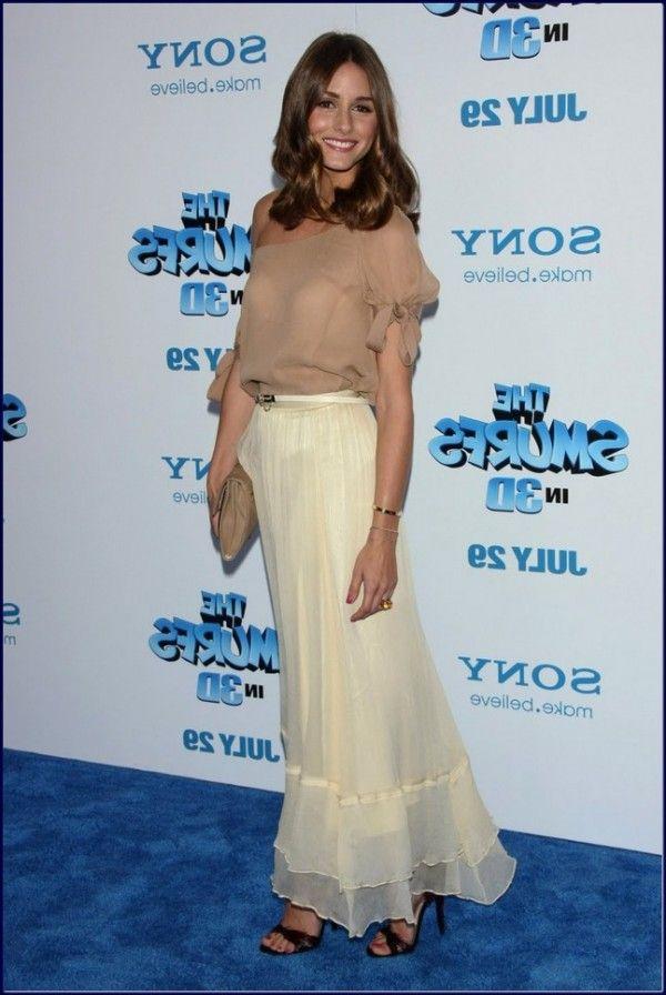Olivia-Palermo-Wearings-Michelle-Trachtenberg-Evening-Dress