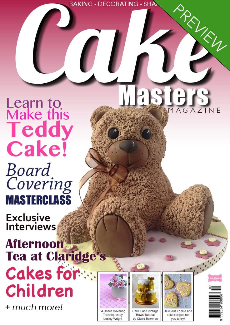 Cake Masters Magazine - May 2014 Cakes for Kids!