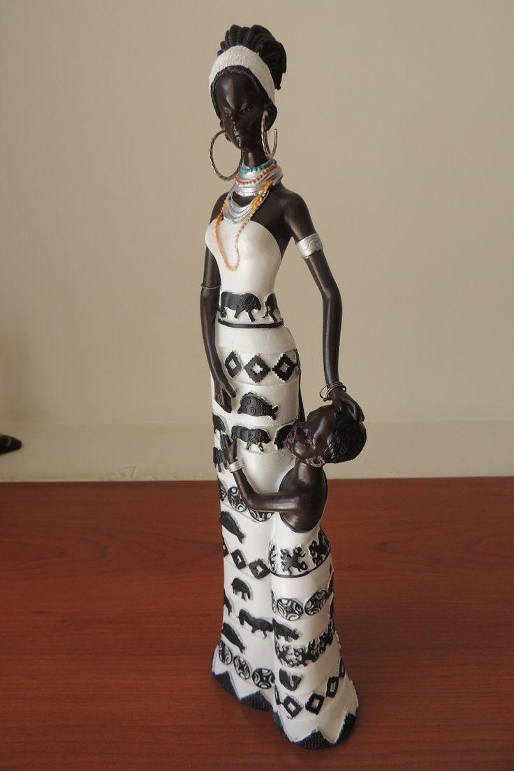 africanas en ceramica con bebes - Buscar con Google
