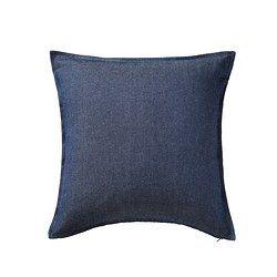IKEA - ORMKAKTUS, Housse de coussin, Facile de retirer la housse grâce à la fermeture à glissière.