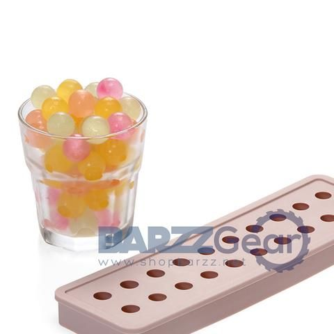 Silicone Small Round Ice Cube Tray Mold Ball Sphere Kitchenware Tool