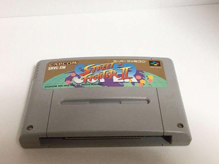 SUPER STREET FIGHTER 2 Nintendo Super Famicom SNES Japan NTSC-J #CAPCOM