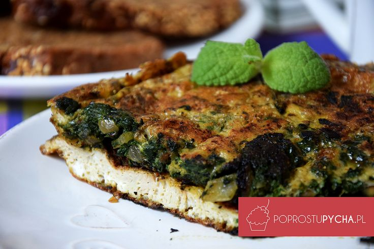 Szpinakowy #omlet lubicie? 💚  ja od niedawna to #szpinak wprost uwielbiam! Nie wiem jak wcześniej mogłam jego nie jeść...  #sniadanie #kolacja #przepis #poprostupycha