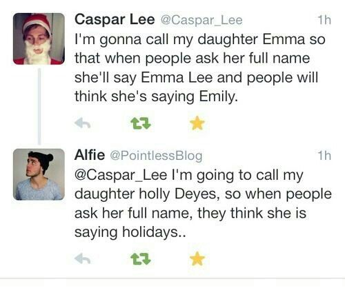 I actually know an Emma Lee!!