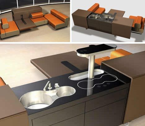 80 best images about contained furniture living in a container on pinterest kitchen dining - Cheap kitchen tables for small spaces concept ...