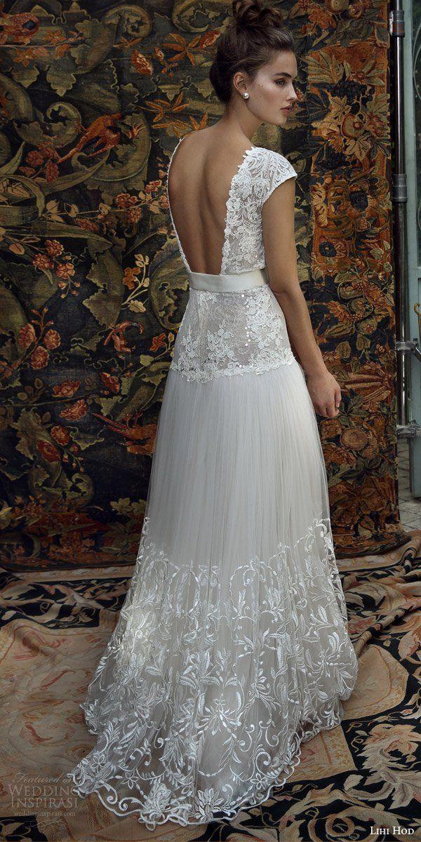 Os lindos vestidos de noiva da designer israelense Lihi Hod.