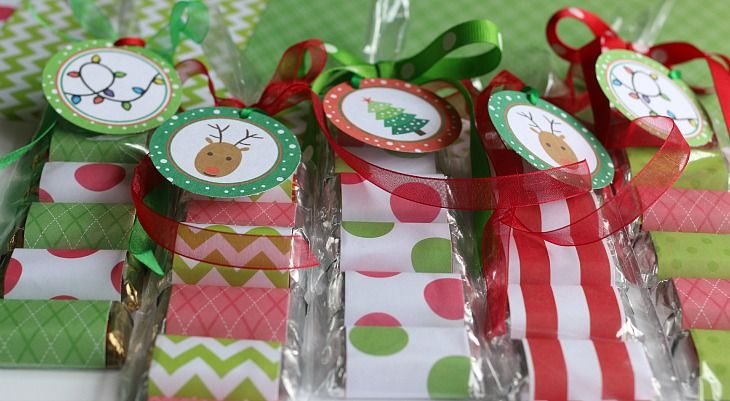 Best christmas treat bags ideas on pinterest