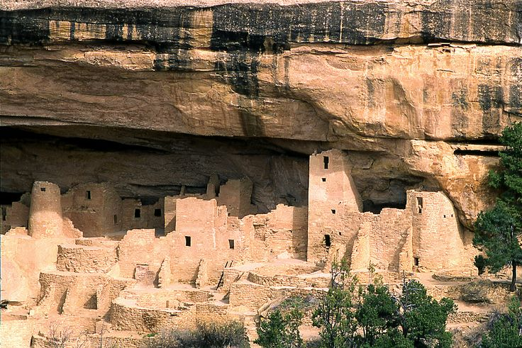 Mesa Verde National Park. On the way to Four Corners Monument.