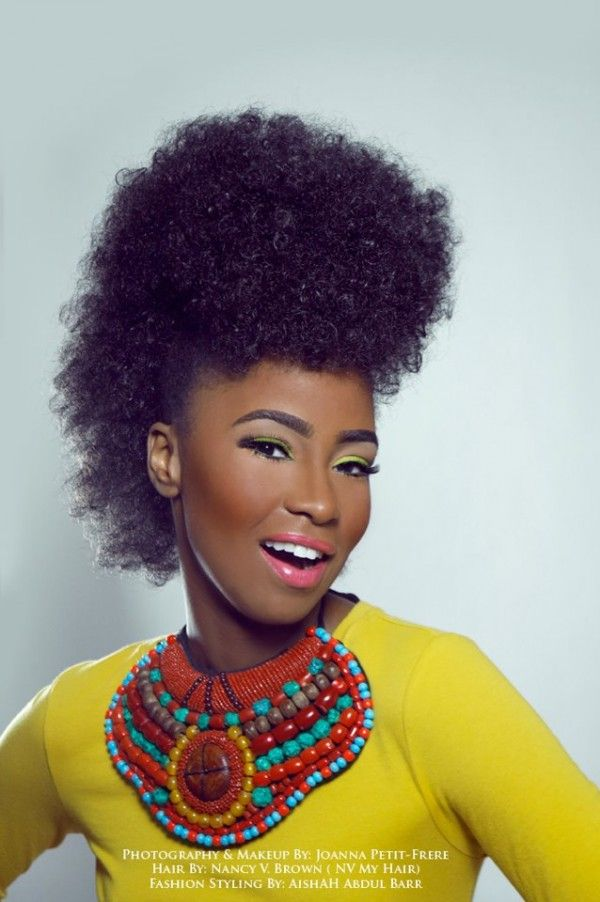 That necklace!: Fro Hawk, Hair Styles, Black Hair, Makeup, Naturalhair, Beauty, Natural Hairstyles