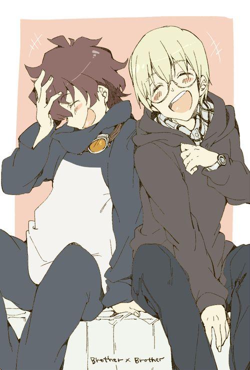 Leo and William. :)