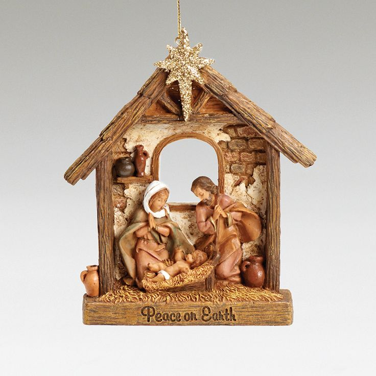 Religious Christmas Ornament: 40 Best Images About A Christmas Ornament On Pinterest