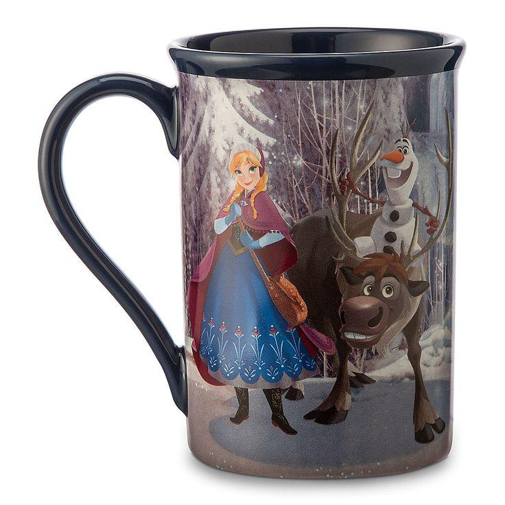 frozen friends mug from disney store for mugs et. Black Bedroom Furniture Sets. Home Design Ideas