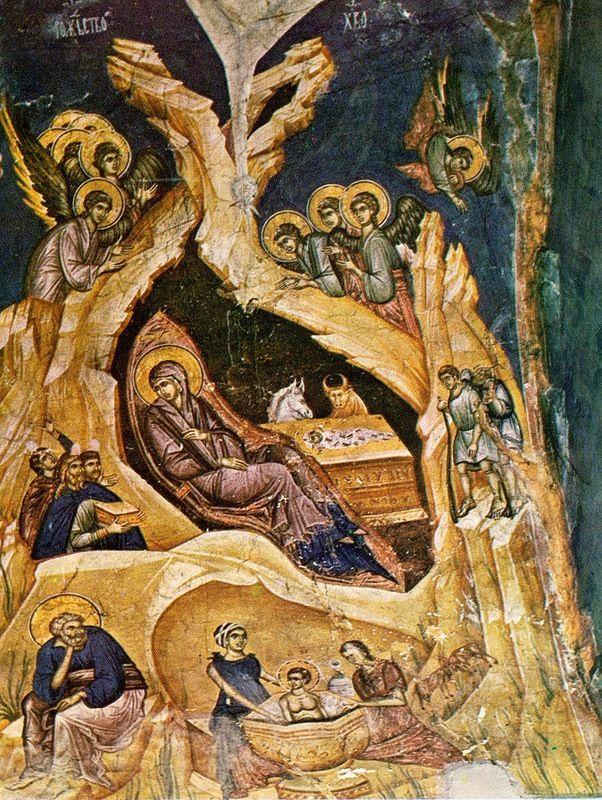 Христос раждается, славите! Тропарь Рождества Христова глас 4 Рождество Твое, Христе Боже наш, возсия мирови свет разума, в нем бо звездам служащии звездою…