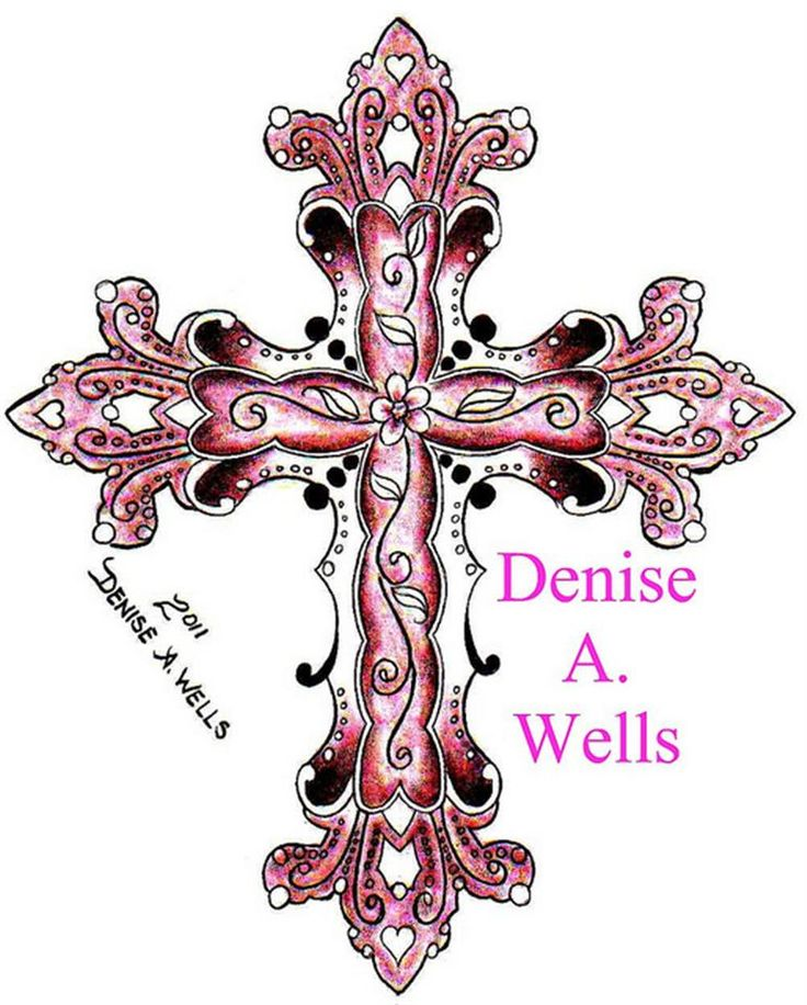 Bing : Feminine Cross Tattoos