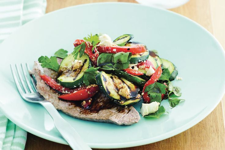 Add this low-fat veal steak and salad recipe to your repertoire for a quick, delicious and healthy meal.