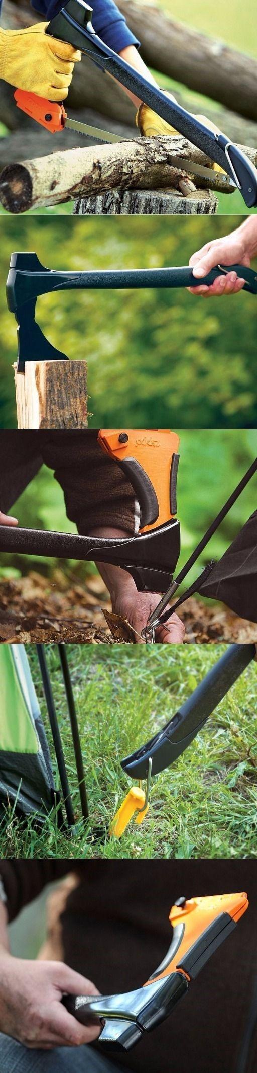 Zippo 4-In-1 Woodsman Multi Tool Axe, Saw, Mallet Survival Multi Tool Gear AbdulAziz Bukhamseen
