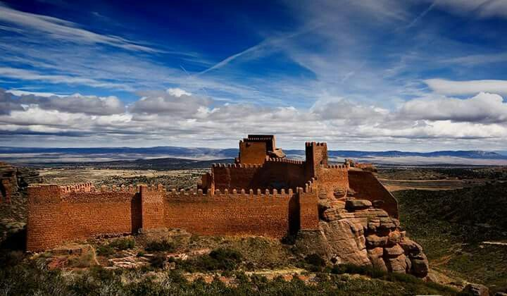 Peracense Castle, Teruel (Spain)