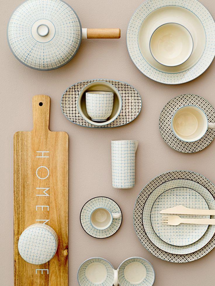 Elizabeth the great! Tableware design by Bloomingville