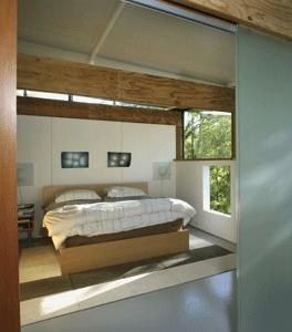 Bedroom by Rocio Romero. Minimalism at its best.