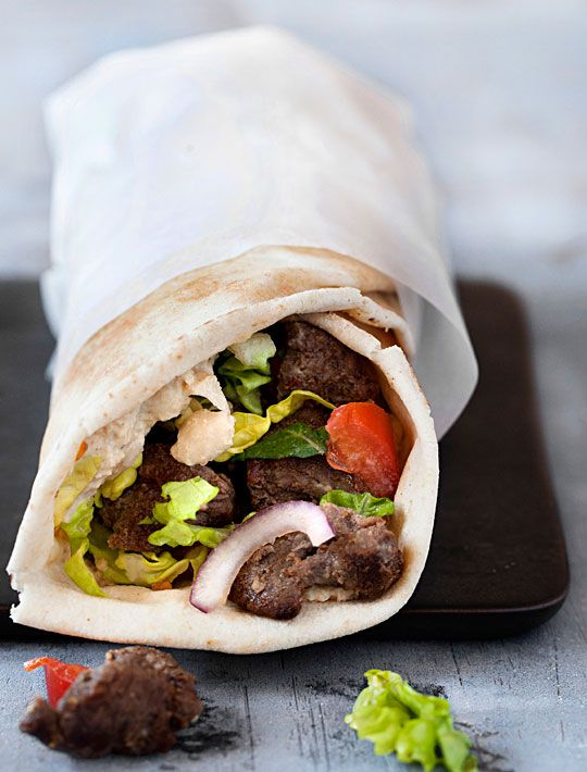 Hjemmelavet shawarma