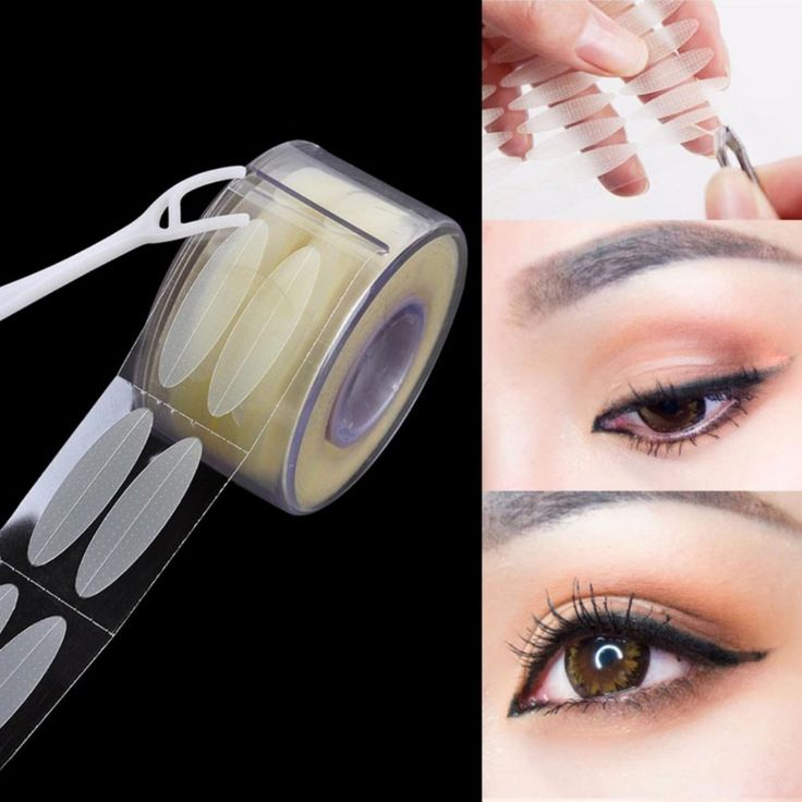 Nuevo 300 Pares de Color Carne Párpado Cintas de Ojos Talk Doble Párpado Del Ojo Técnico Pegatinas Para Dama de Belleza Herramientas de Maquillaje