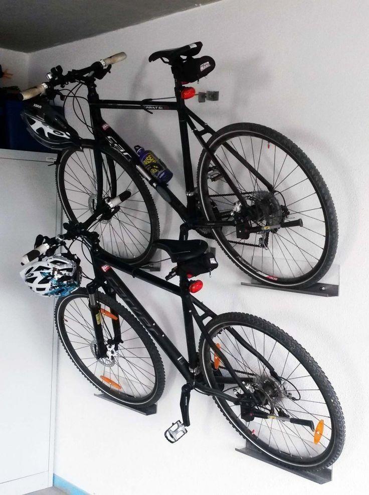 Du möchtest dein Fahrrad nicht immer im Weg stehen haben? Dann bau dir eine…