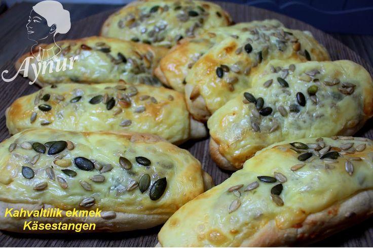 Käsestangen mit Kürbiskerne# Kabak cekirdekli peynirli ekmek