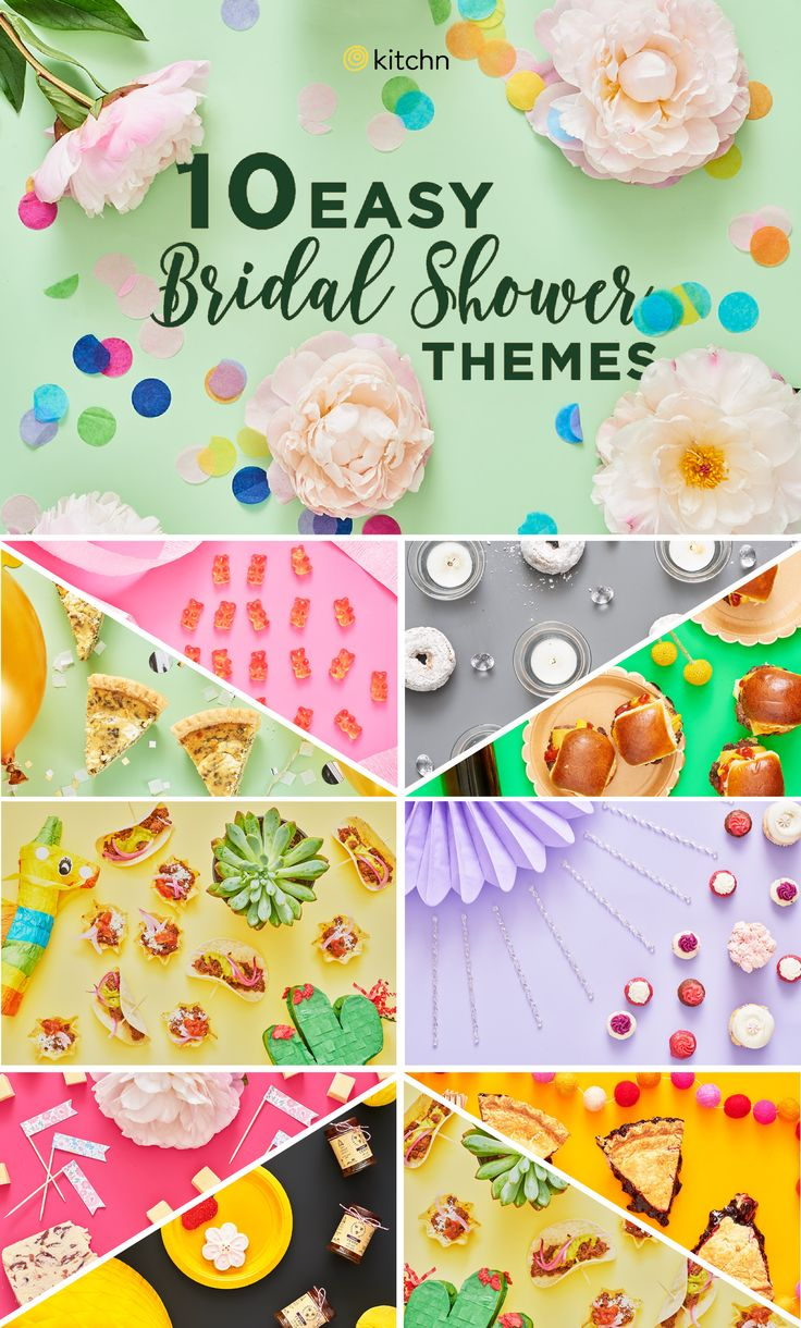 10 Cute and Easy Bridal Shower Themes — The Spring Bridal Shower