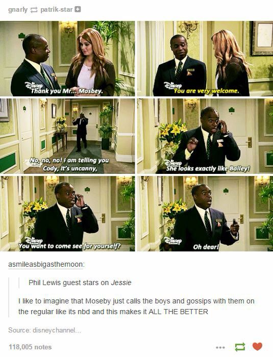 Lol I loved suite life of Zack and Cody a suite life on deck, but I really really hate Jessie, but this is still funny