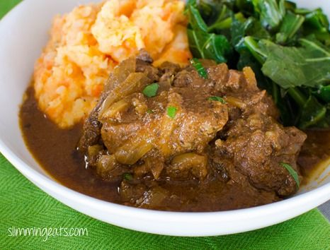 Slow Cooked Sweet Onion Braised Beef   Slimming Eats - Slimming World Recipes