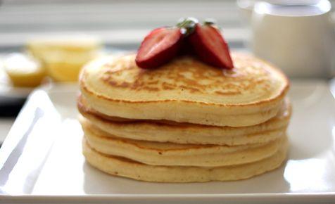 Basic Pancakes Recipe – Easy Food Recipe * Use 1 cup milk