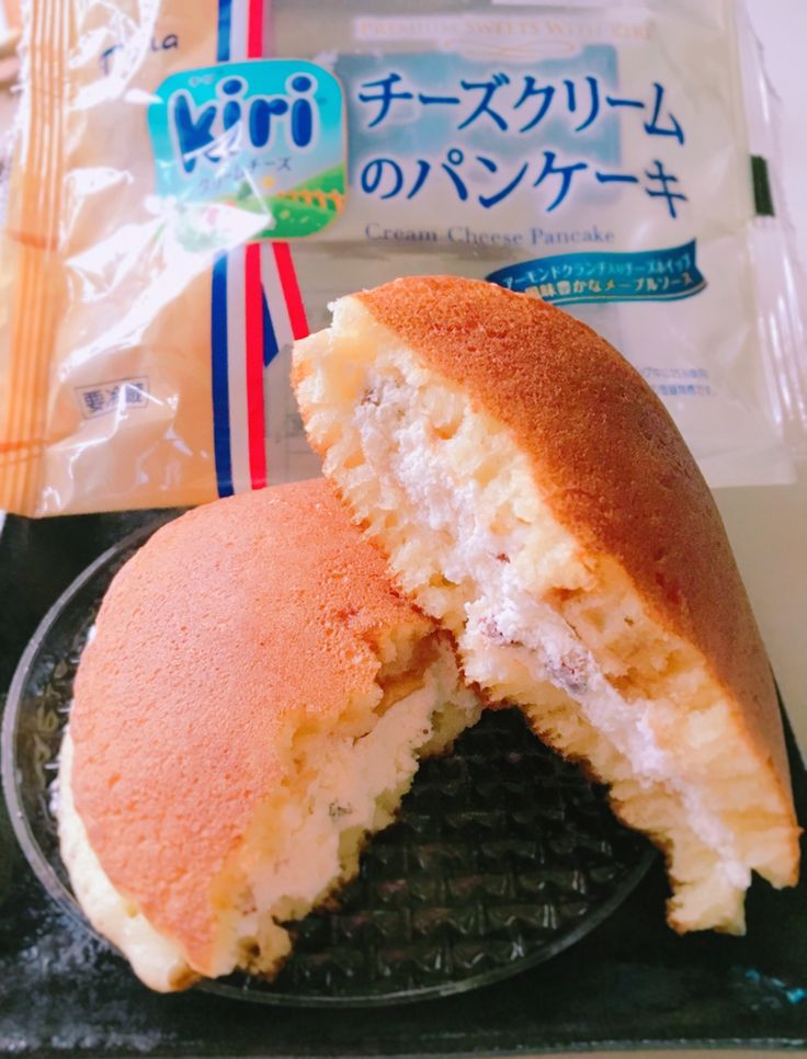 大きくてずっしり「kiri チーズクリームのパンケーキ」