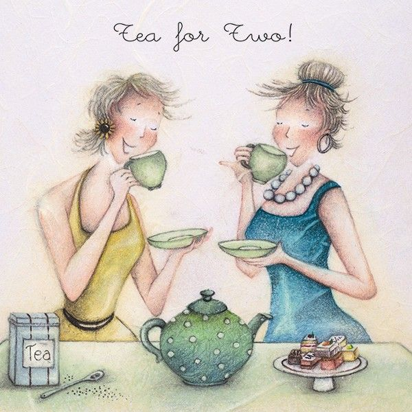 Cards » Tea for two » Tea for two - Berni Parker Designs
