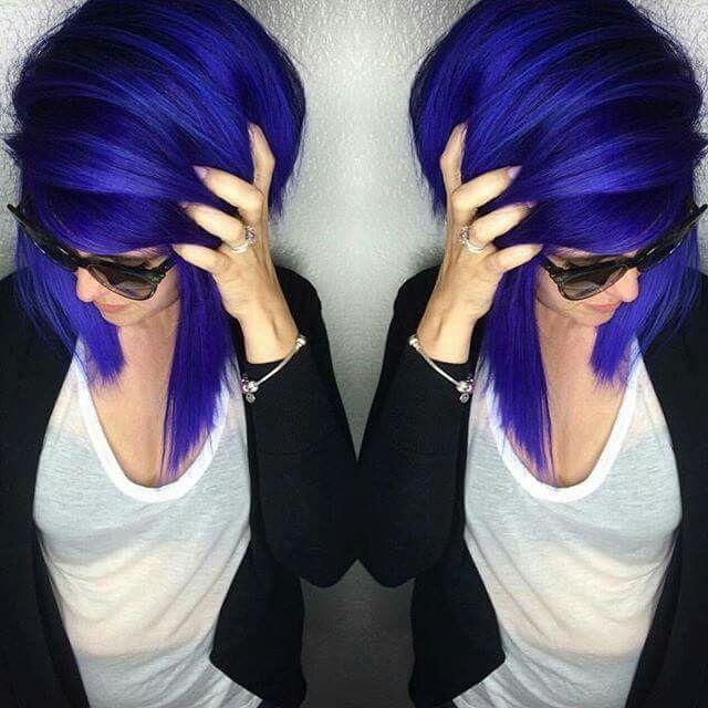 Arctic Fox Hair Dye - Purple Rain and Poseidon - Unknown Artist