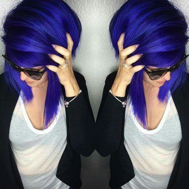 Arctic Fox Hair Dye - Purple Rain and Poseidon