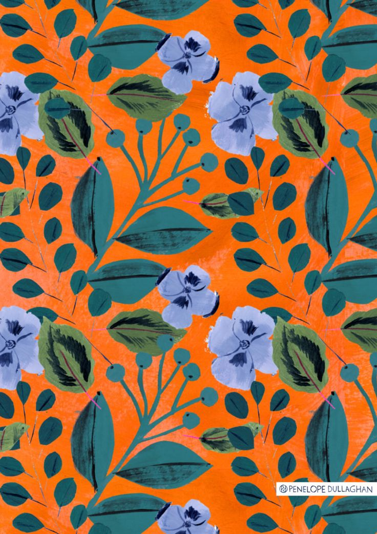Free Pattern Download from Illustrator Penelope Dullaghan                                                                                                                                                                                 More