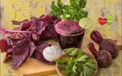 Suco Detox de Espinafre e Beterraba Para Limpar o Intestino