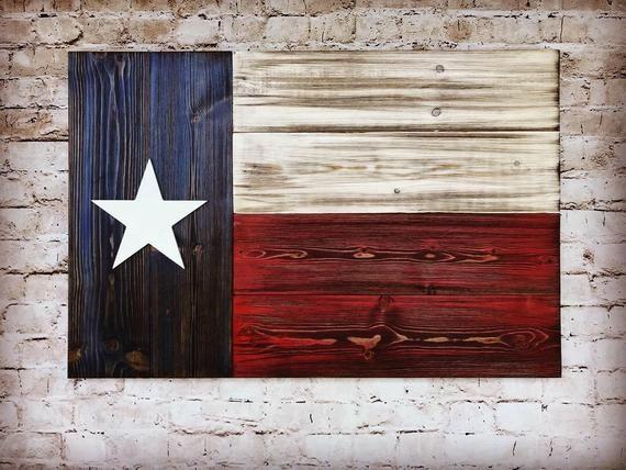 Texas Wood Flag Wall Art Farmhouse Decor Housewarming Gift Etsy In 2020 Wood Texas Flag Wood Flag Texas Flag Decor