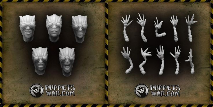 Two new products released today. FURIES ARMS https://puppetswar.eu/product.php?id_product=678 FURIES HEADS https://puppetswar.eu/product.php?id_product=677