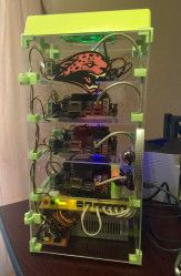 Super Computing with Mini ITX Cluster From: http://ift.tt/2ndTGsq - https://www.kali.org