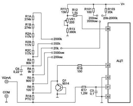 Samsung ck 5052ar схема
