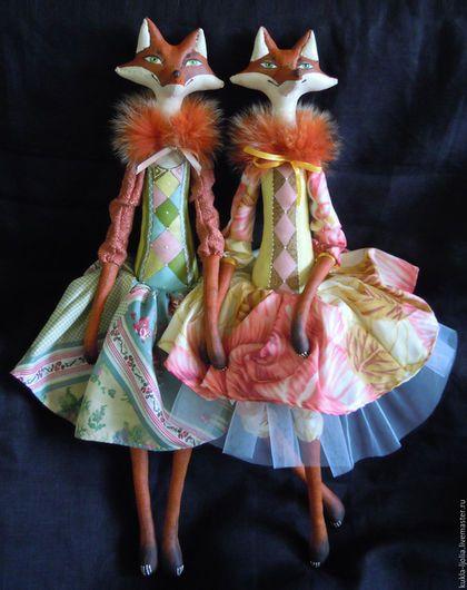 Ароматизированные куклы ручной работы. Лисовета Патрикеевна кукла лиса. Ольга…