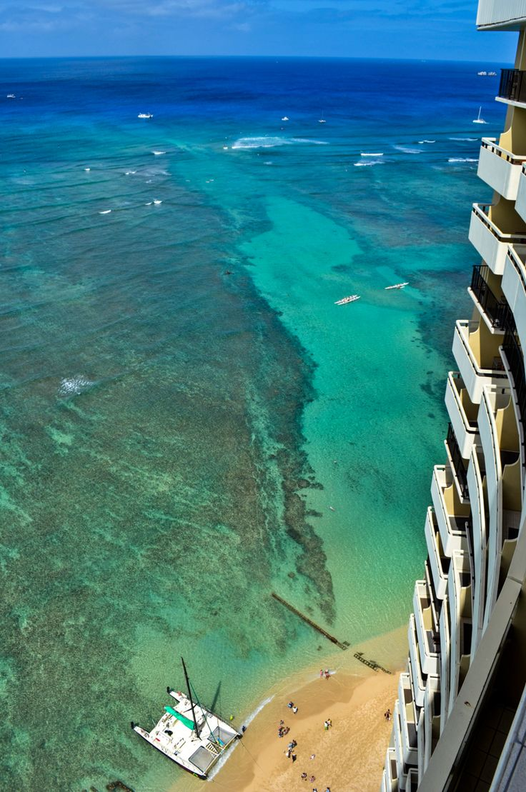 Views from the Sheraton Waikiki - Honolulu, Hawaii
