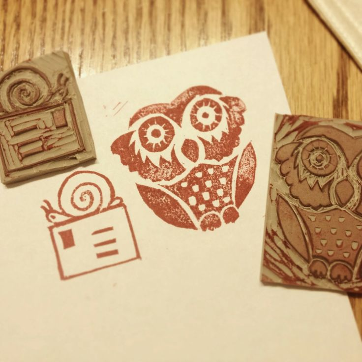 Stamps carved by Jessica Davey: Diy Stamps Hand, Rubber Stamping, Stamps Hand Carved, Paper Stamps, Undefined Stamps, Stamp Carving, Rubber Stamps