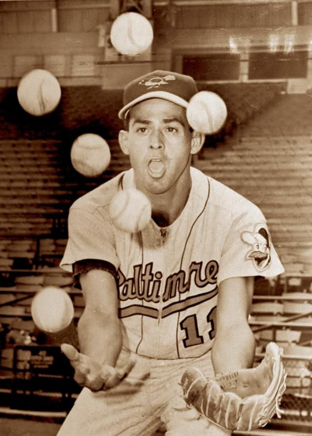 Slick shortstop Luis Aparicio of the Baltimore Orioles in 1963.