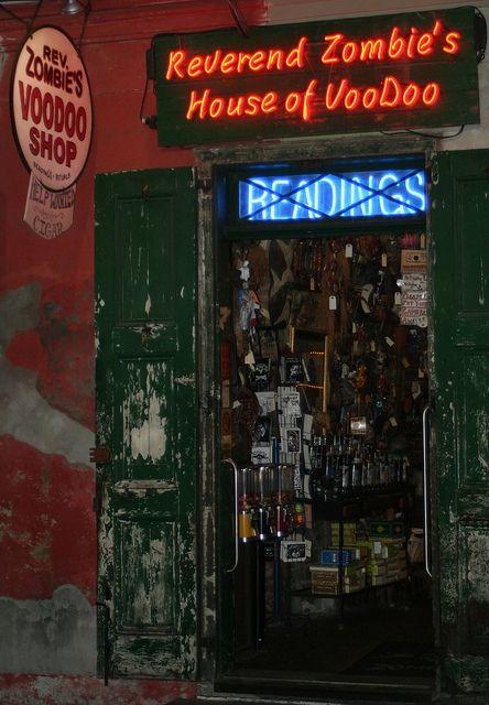 New Orleans - Voodoo shop