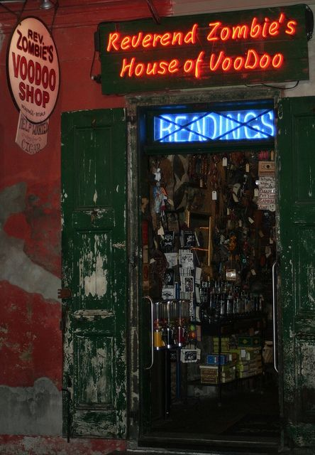 More inspiration from Reverend Zombie's House of Voodoo in New Orleans...